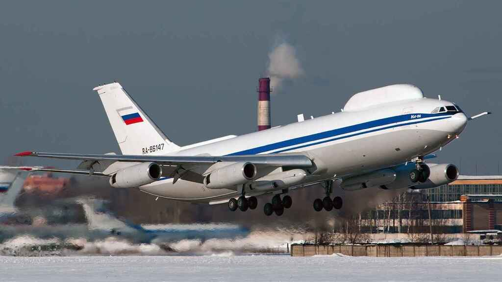 Il-80 de la Fuerza Aérea de Rusia