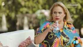 Carmina Barrios durante su entrevista en 'Mi casa es la tuya'.