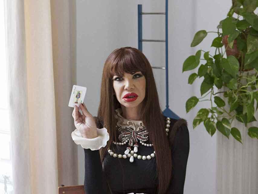 Cristina mostró una imagen nunca vista en ella, elegante y sofisticada.