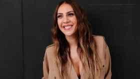 Mónica Naranjo durante la presentación de su nuevo trabajo, 'La huella de la pantera'.