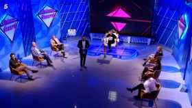Chelo García Cortés participando en el concurso '¡Quiero dinero!'.