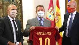 Burillo, Page y Rubiales. Foto: Óscar Huertas