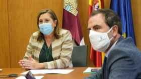 La consejera de Educación, Rosa Ana Rodríguez, tras una reunión virtual con directores de centros de Educación de Toledo