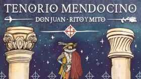 Imagen parcial del llamativo cartel de la XXX edición del Tenorio Mendocino obra de JASP y diseño de Pablo Suárez de Puga