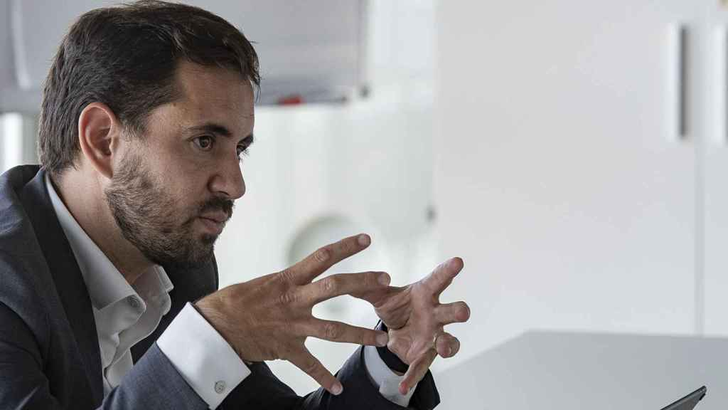 El CEO de Sothis, Raúl Martínez, en Marina de Empresas, Valencia.