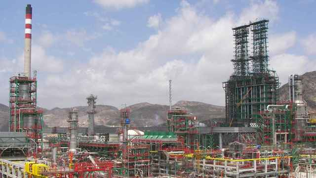 El complejo de Repsol en la ciudad murciana de Cartagena.