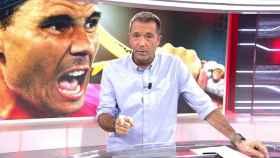 Manu Carreño, presentador de Deportes Cuatro.