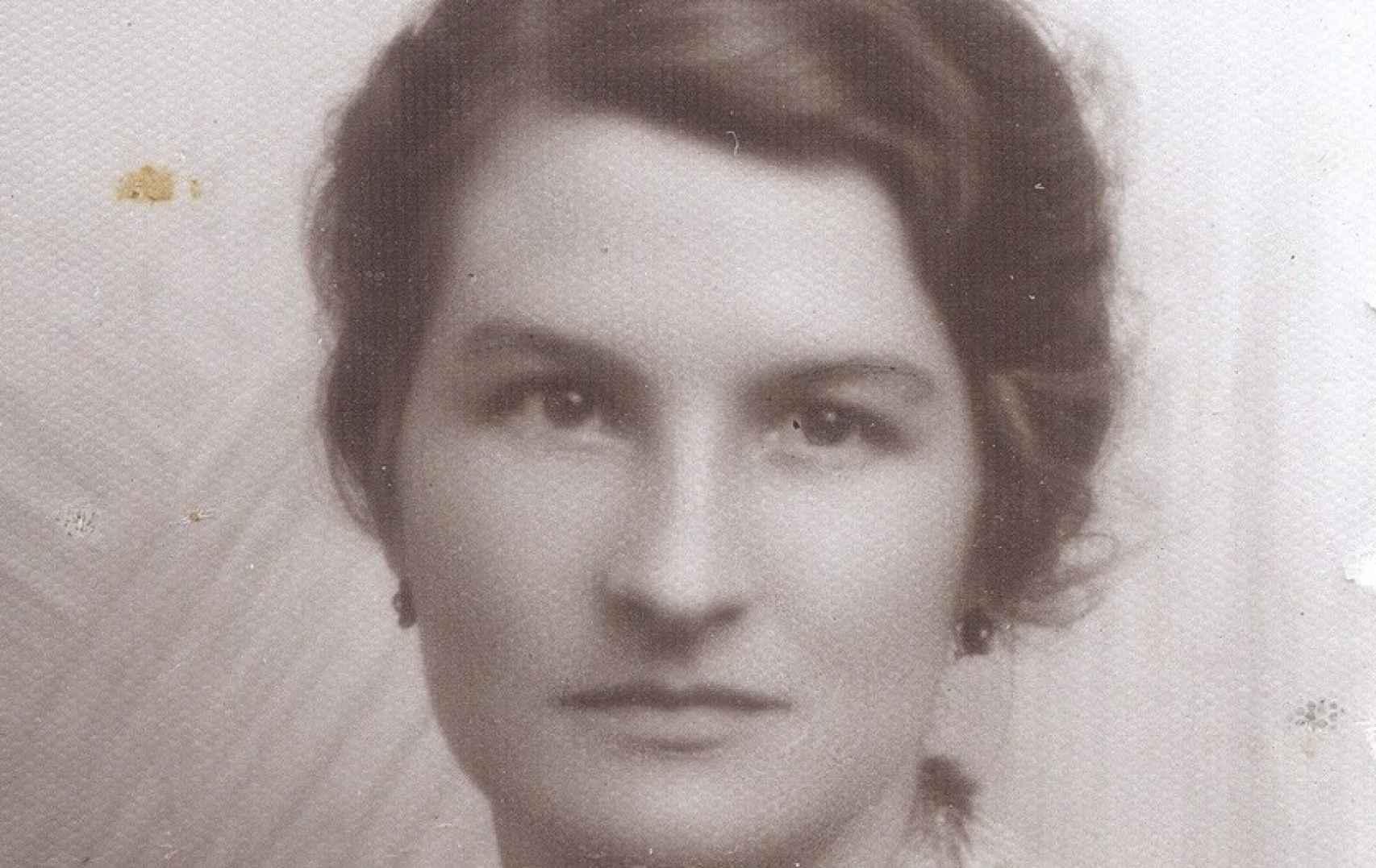 Retrato de Virginia Hall.