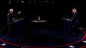 Último debate entre Donald Trump y Joe Biden antes de las elecciones, celebrado en Nashville.
