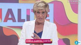 Chelo García-Cortés al frente de 'Socialité'.