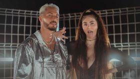 Nyno Vargas y la Mala Rodríguez.