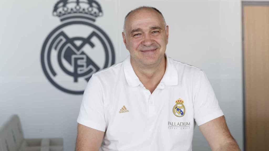 Pablo Laso, entrenador del Real Madrid de Baloncesto.