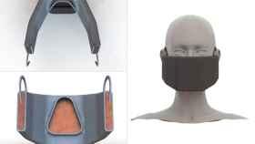 Concepto y prototipo de la nueva mascarilla contra el coronavirus