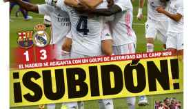 La portada del diario MARCA (25/10/2020)
