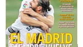 La portada del diario AS (25/10/2020)
