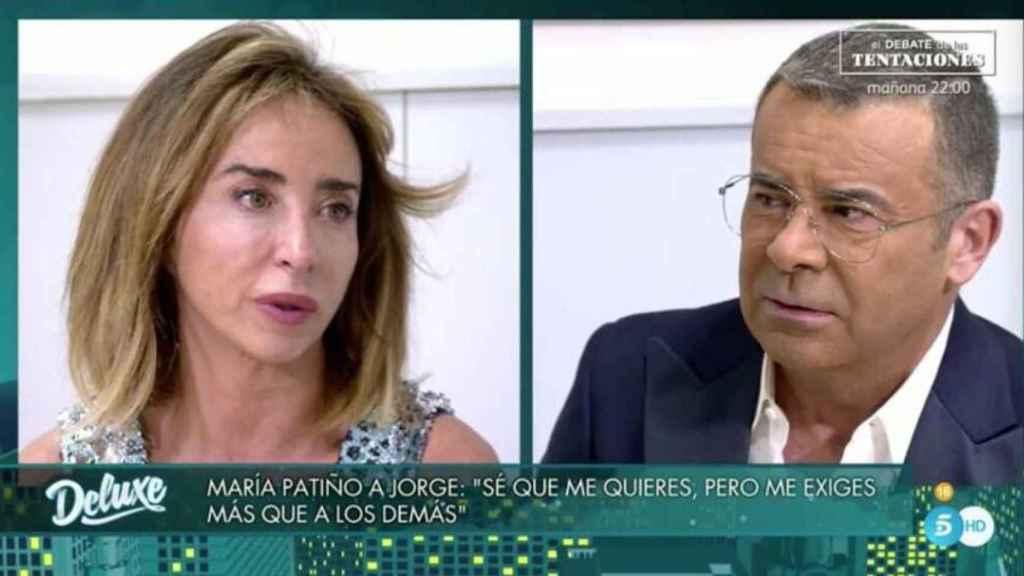 María Patiño y Jorge Javier Vázquez en 'Deluxe'.
