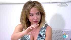La periodista María Patiño en 'Sábado Deluxe'.