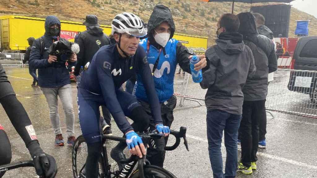 Enric Mas, tras la etapa 6 de La Vuelta 2020