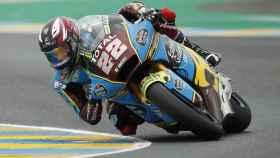 Sam Lowes, en el Gran Premio de Alcañiz en Motorland