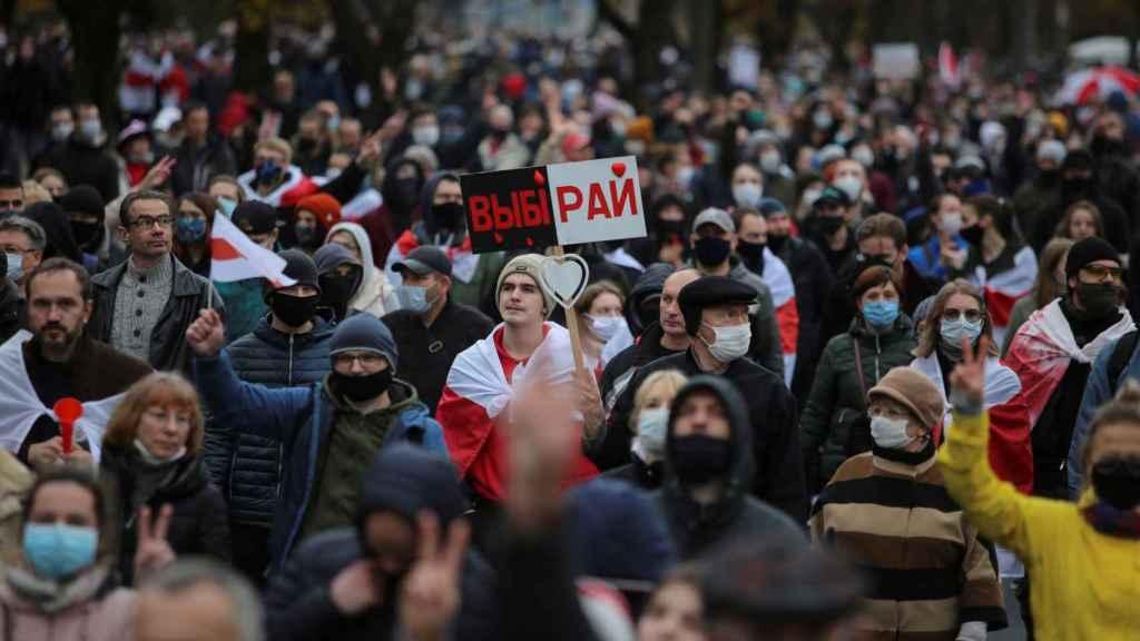 Huelga en Bielorrusia.
