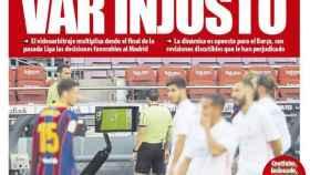 La portada del diario Mundo Deportivo (26/10/2020)