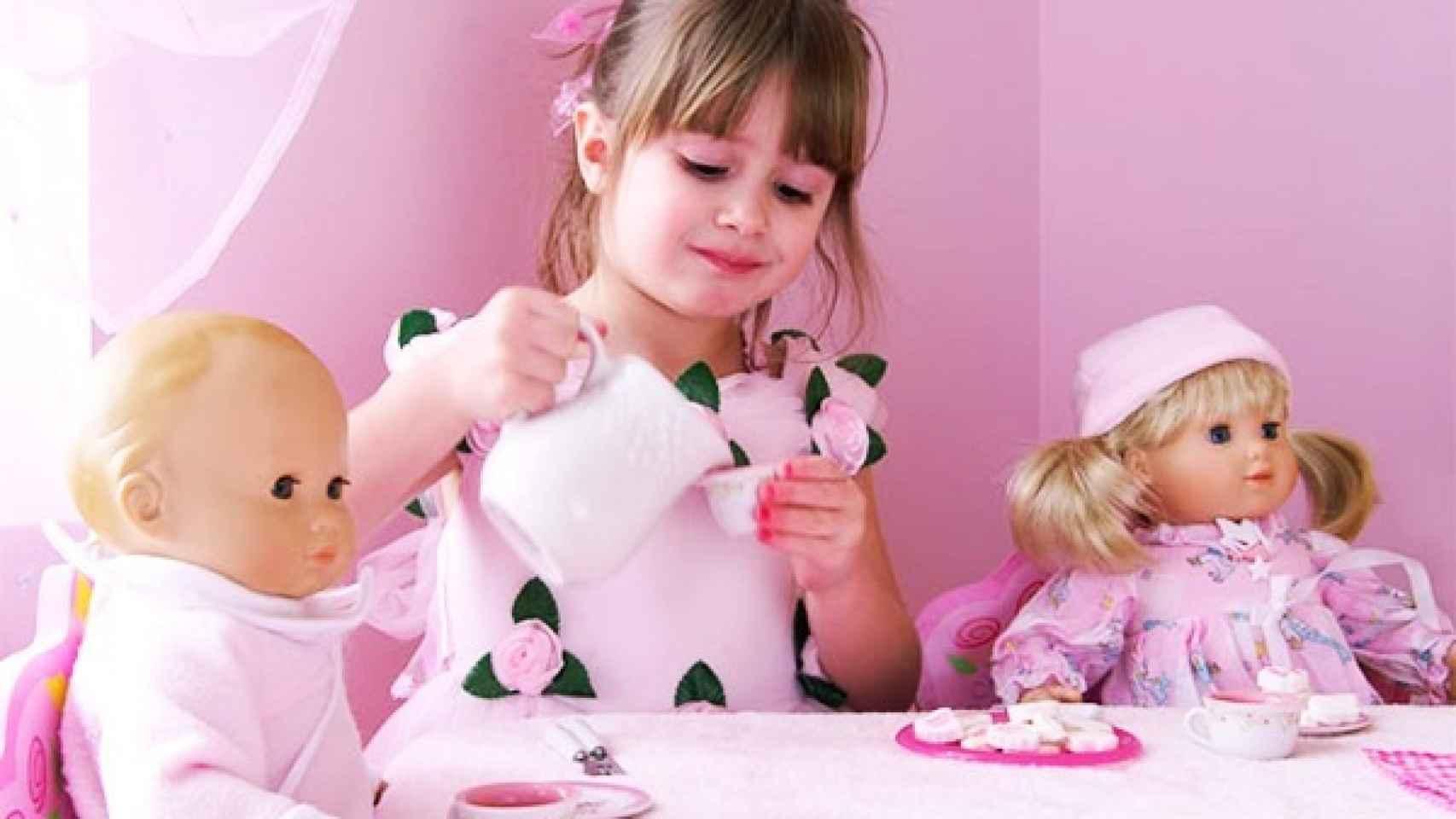 Según un estudio del Instituto de la Mujer, el 11% de los anuncios de juguetes sexualiza a las niñas.