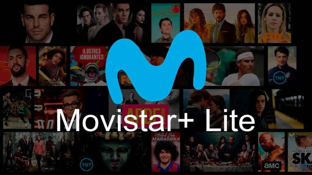 Movistar + Lite.