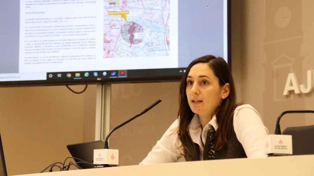 Elisa Valia, concejal de Ciclo Integral del Agua, Participación Ciudadana y Acción Vecinal. EE