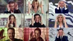 Diversos rostros de Antena 3