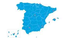 El mapa del cambio climático en España de eltiempo.es