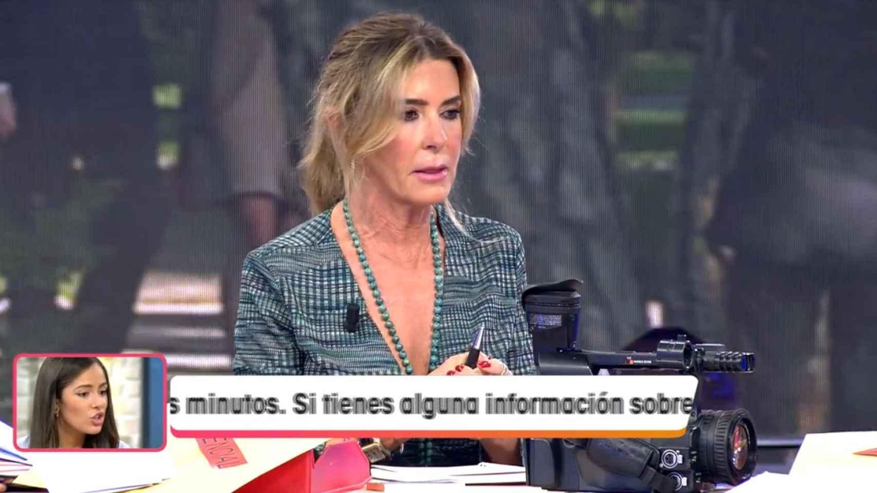 Marisa Martín-Blázquez durante la sección 'Marisa confidencial'.