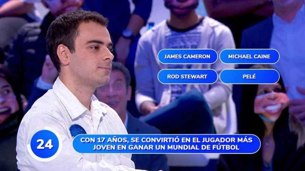 Pablo Díaz es el concursante más longevo del nuevo 'Pasapalabra'.