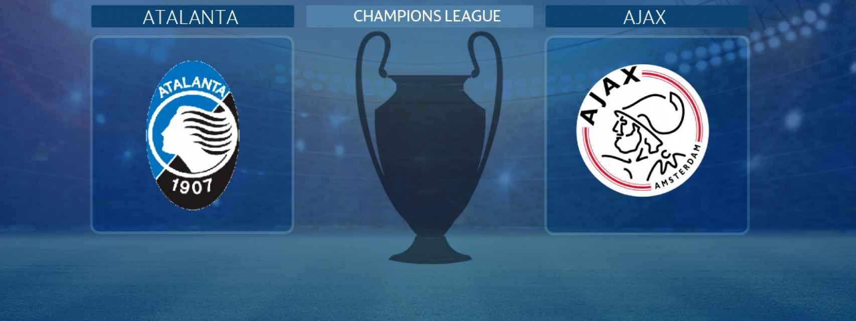 Atalanta - Ajax, partido de la Champions League