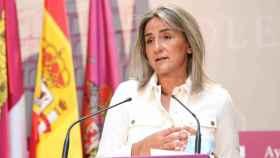 La alcaldesa de Toledo, Milagros Tolón, en una imagen de archivo