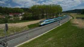 Corredor ferroviario en el que trabajará OHL en República Checa.