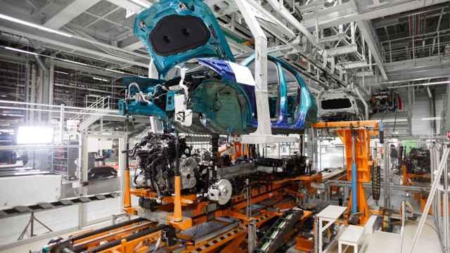 Imagen de la planta de Volkswagen Navarra.