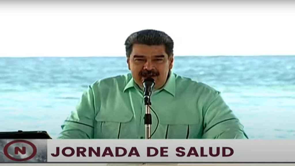 Nicolás Maduro se dirige a los venezolanos para hacer balance de la gestión de la pandemia.