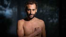 Jesús Candel, 'Spiriman' mostrando su torso a EL ESPAÑOL.