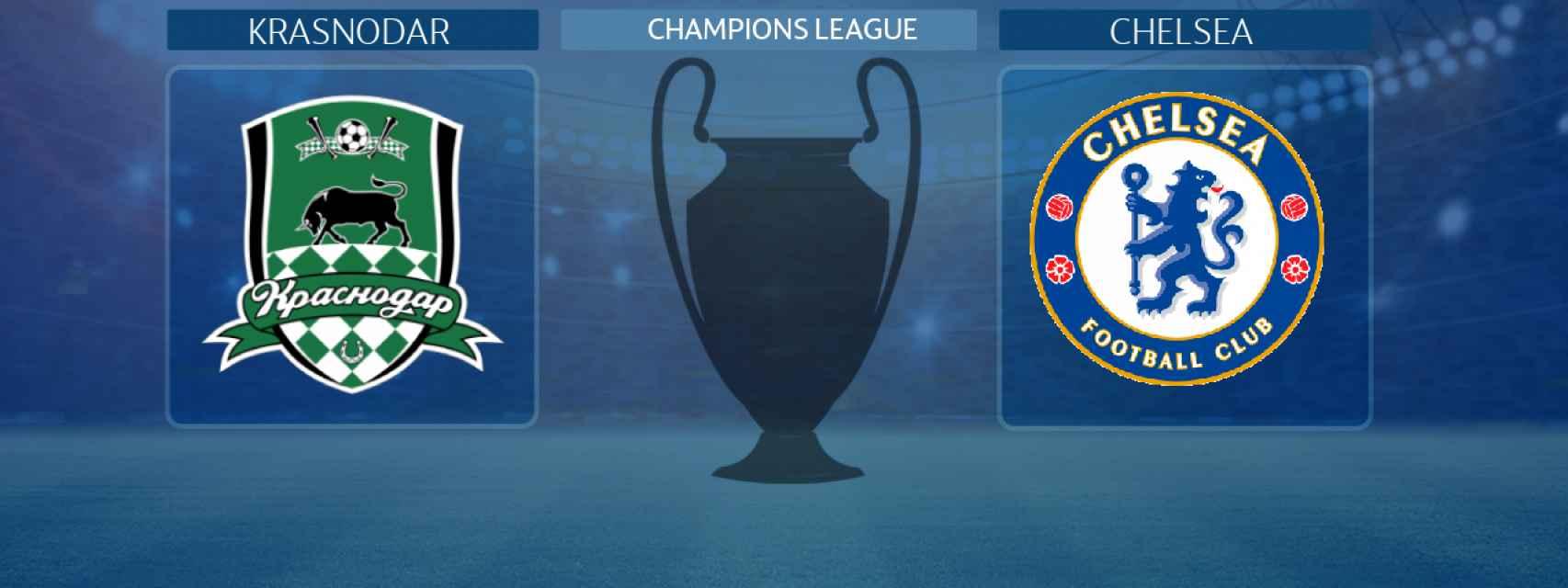 Krasnodar - Chelsea, partido de la Champions League