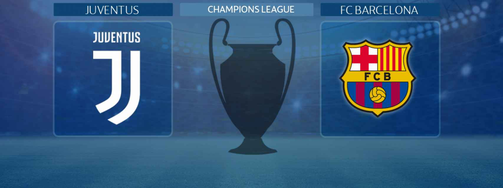 Juventus - FC Barcelona, partido de la Champions League