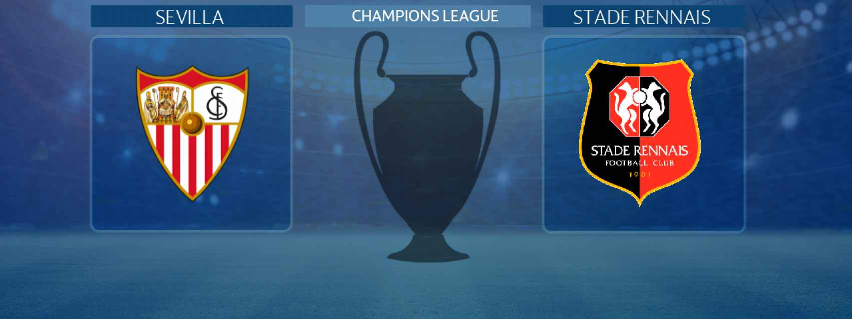 Sevilla - Stade Rennais, partido de la Champions League