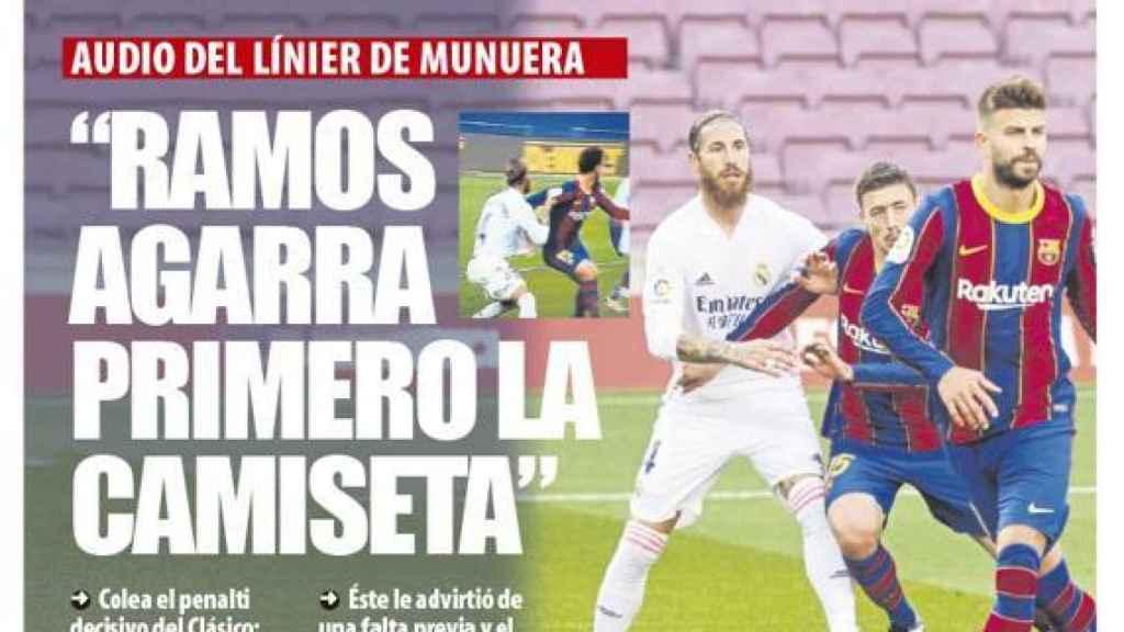Portada Mundo Deportivo (27/10/20)