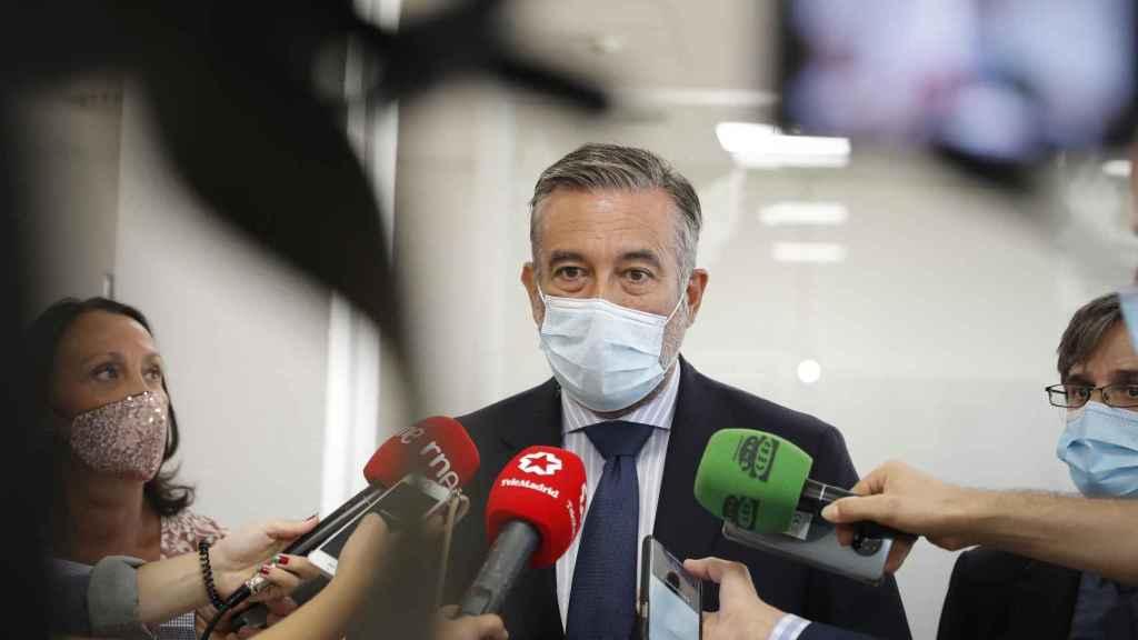 Enrique López, consejero de Justicia, Interior y Víctimas del Terrorismo de la Comunidad de Madrid.