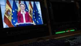 Ursula von der Leyen, durante su participación este lunes en la Conferencia de Presidentes