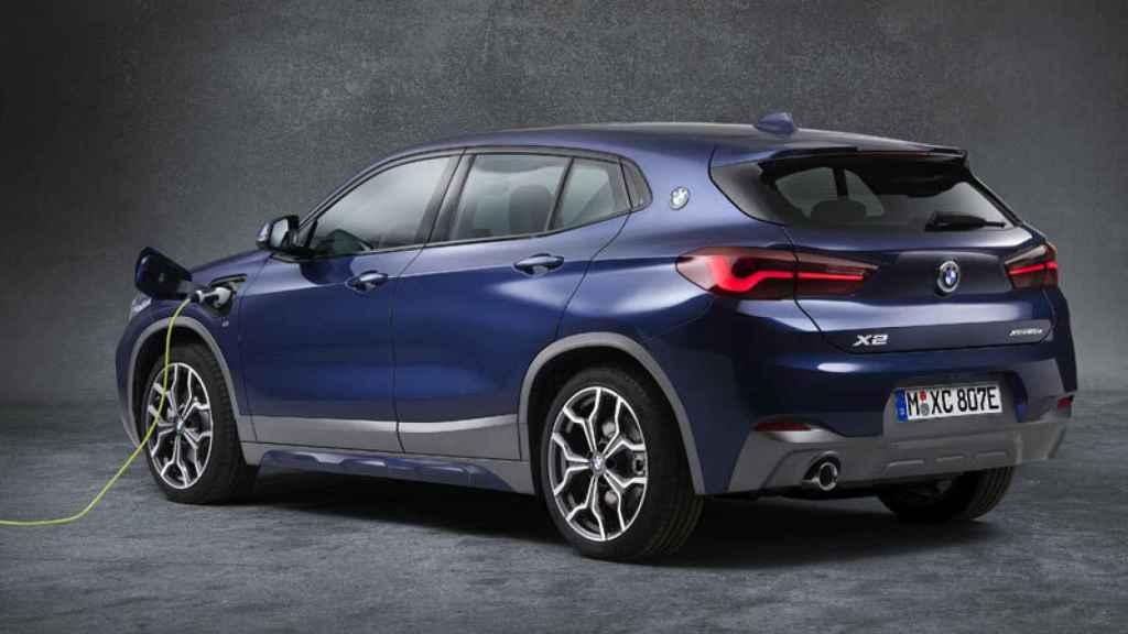 El SUV de BMW, el X2, en su versión híbrida enchufable.