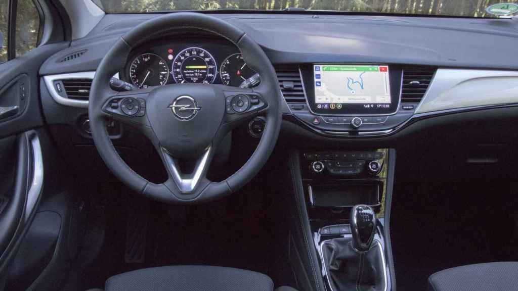Interior del nuevo Opel Astra.