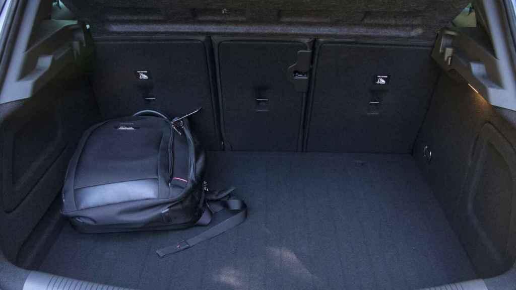 Capacidad del maletero en el Opel Astra.