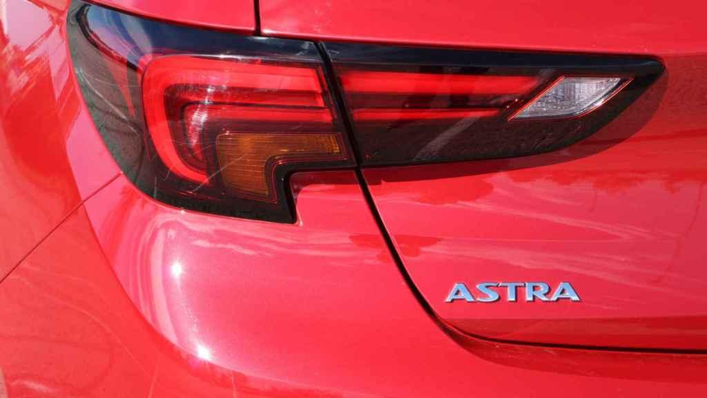 Los grupos ópticos cuentan con la última tecnología en el Astra.