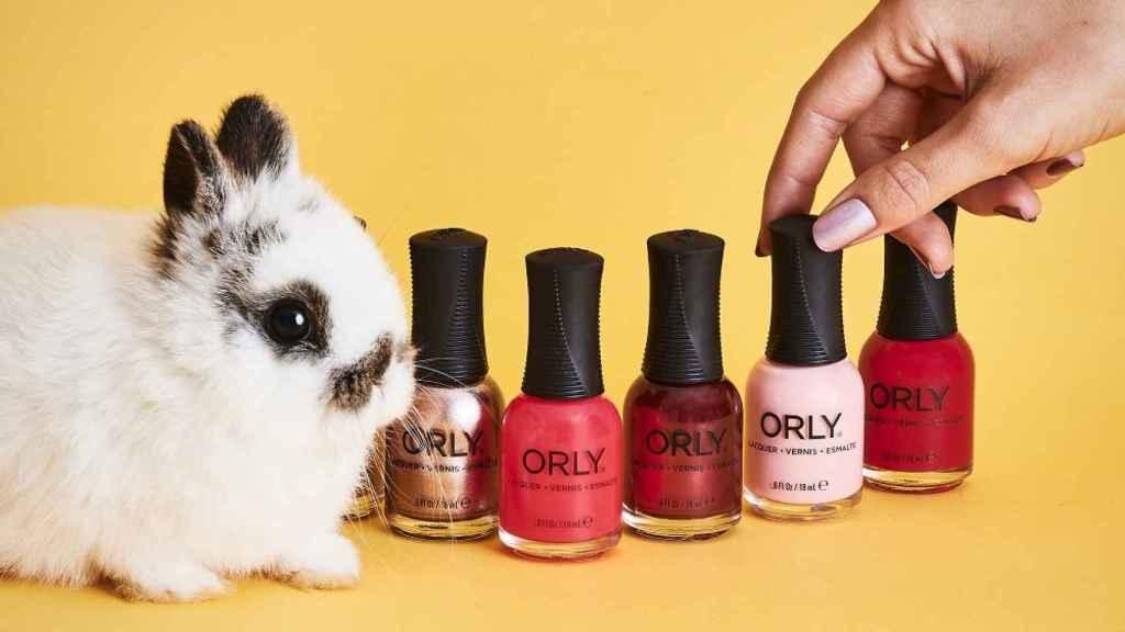 Orly es una marca de cosmética vegana y 'currently free'.