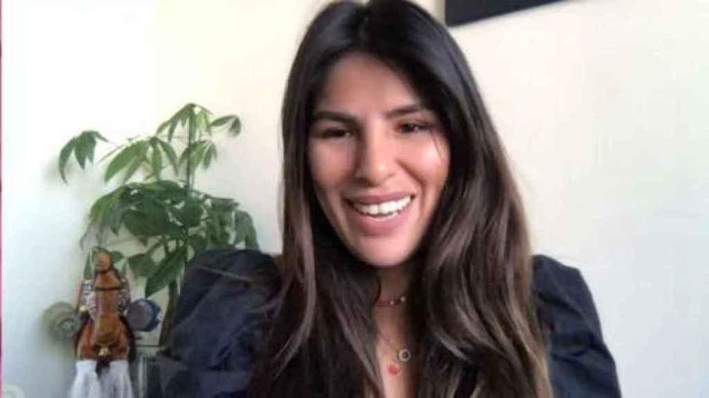 Isa Pantoja, en el momento que ha conectado con 'El programa de Ana Rosa' para confirmar su fichaje.